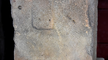 Mud Brick Stamped with the Name of King Ishme-Dagan