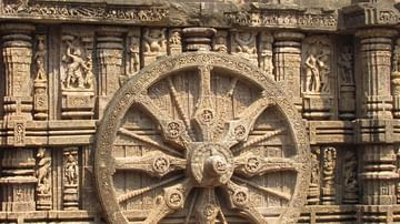 Wheel, Konarak Sun Temple