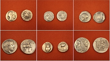 Ancient Greek Silver coins