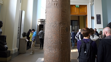 Palm-leaf Column of Ramesses II, Piramesse