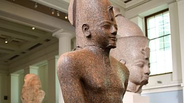 Statue of King Thutmose III