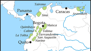Pre-Columbian Tribes of Northern South America