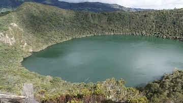 Lake Guatavita, Colombia