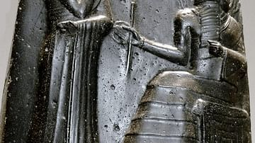 Hammurabi and Shamash