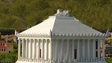 Model of the Mausoleum at Halicarnassus