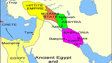 States of the Fertile Crescent, c. 1450 BCE