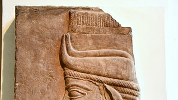 Assyrian Winged-bull Head