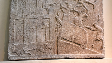 Babylonian City under Assyrian Siege