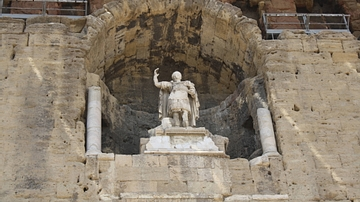 Colossal Statue of Augustus, Theatre of Orange