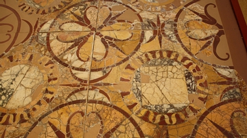 Opus Sectile Flooring [Rosettes]