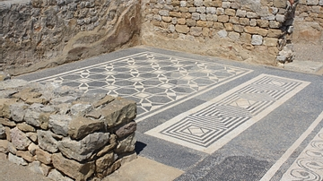 Geometric Mosaic Flooring, Empuries