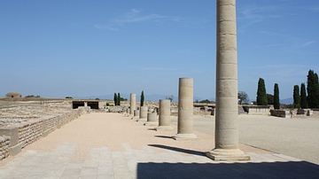 Forum Stoa, Empuries