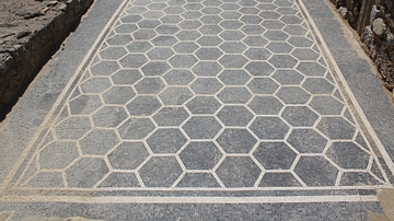 Mosaic flooring, Empuries