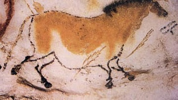Painting of a Horse, Lascaux Cave
