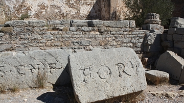 Inscription Stones, Forum of Saguntum