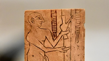 Sumerian Man Offering a Libation