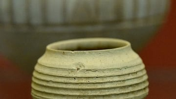 Pottery Cup from Ninevite V Incised Period