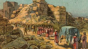 The Israelites Capture Jericho