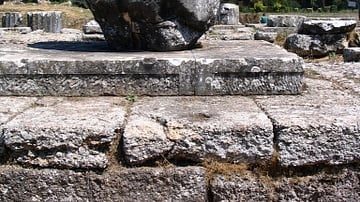Ruins of the Temple of Athena, Tegea