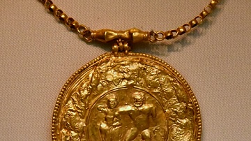 Byzantine Medallion with Pagan Imagery