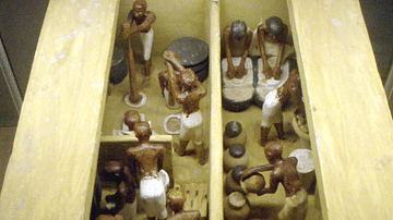 Ancient Egyptian Brewery and Bakery