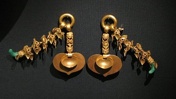 Baekje Gold Earrings