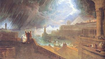 Moses & The Seventh Plague of Egypt