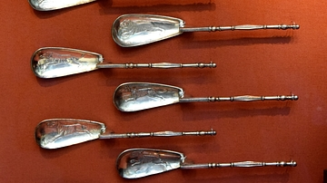 Silver Spoons from the Cyprus Treasure