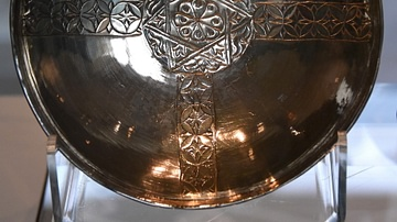 Silver Bowl From Sutton Hoo