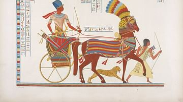 Egyptian War Chariot