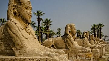 Avenue of the Sphinxes, Thebes