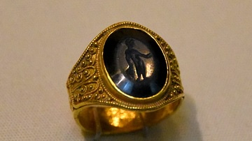 Intaglio Finger-Ring from Anglo-Saxon England