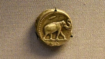 Seleucid Silver Tetradrachm Depicting an Elephant