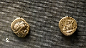 Coins Depicting a Persian Satrap