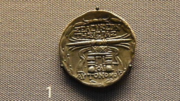 Seleucid Coin with Date