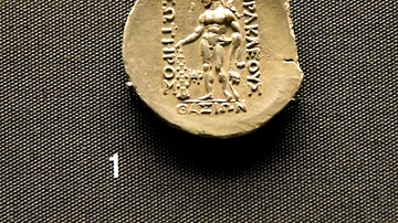 Celtic Coin Copying Greek Inscription