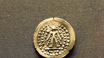Celtic Coin from Thrace Copying Greek Inscription