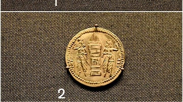 Silver Coin of Bahram II