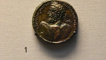 Medallion of Emperor Septimius Severus