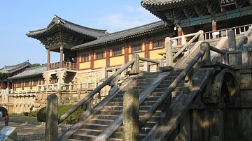 Entrance Stairs, Bulguksa Temple