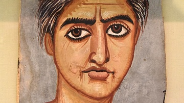 Mummy Portrait of a Woman from Fayum