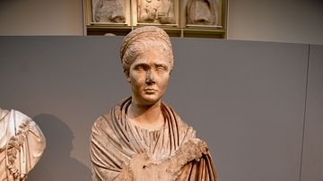 Portrait Statue of a Roman Woman