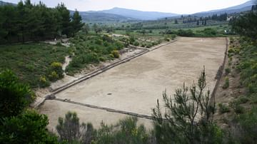 Ancient Stadium, Nemea, Greece