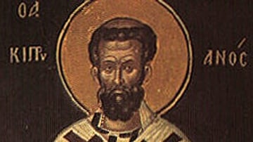 Icon of St. Cyprian