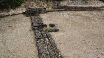 Stadium Starting Block, Nemea, Greece