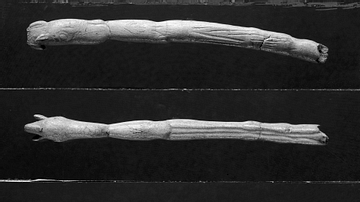 Magdalenian Bone Spear Thrower