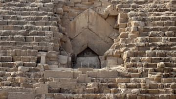 Entrance Passage, Great Pyramid of Giza