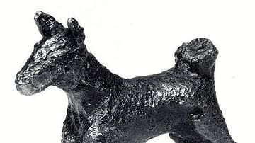 Dog Figurine from Nimrud