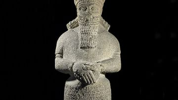 Attendant God Dedicated to Nabu
