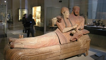 Sarcophagus of the Married Couple, Cerveteri